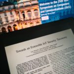 Towards an Extensible IoT Security Taxonomy