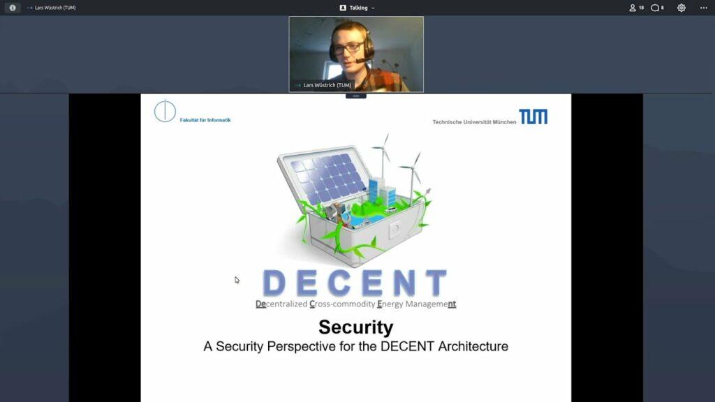 DECENT final project presentation: Security